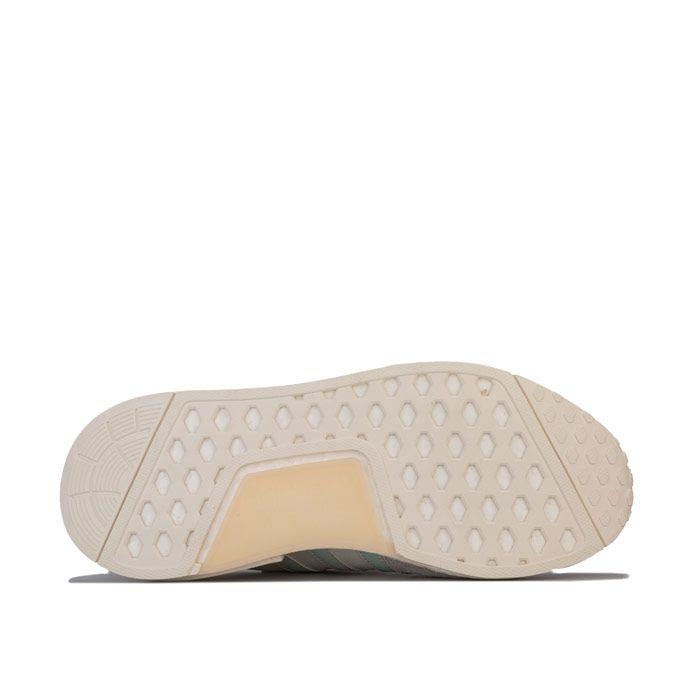Men's adidas Originals MicropacerxR1 Trainers in White Grey