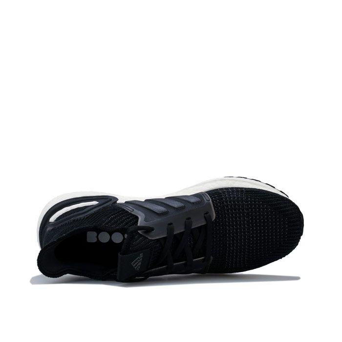 Men's adidas UltraBOOST 19 Running Shoes in Black