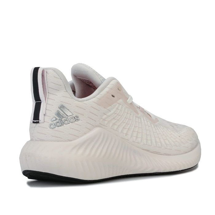 Women's adidas Alphabounce Plus Run Running Shoes in Off White