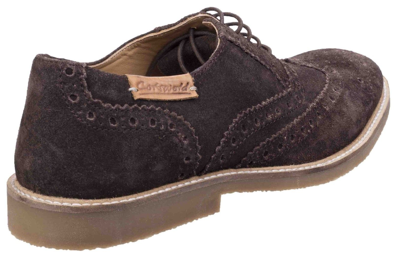 Chatsworth Suede Wingtip Shoes