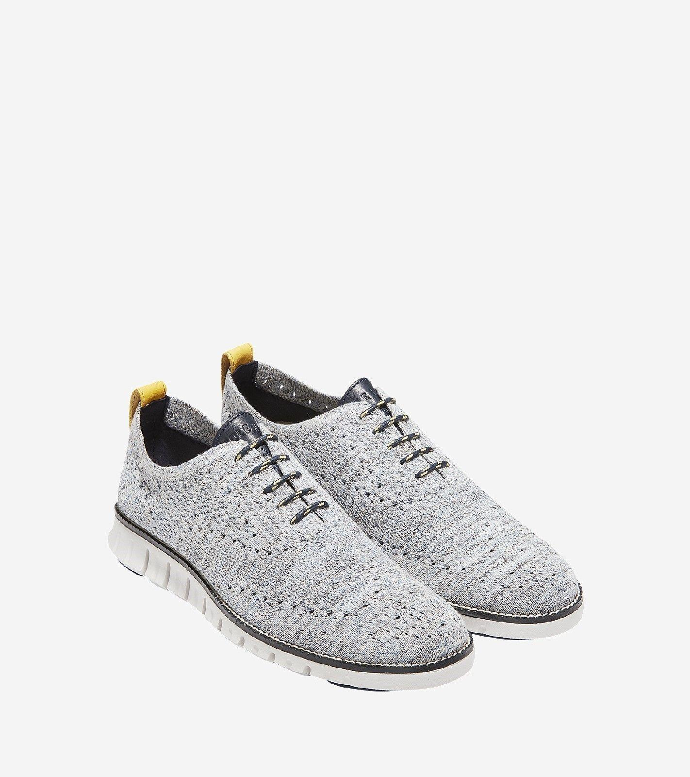 ZEROGRAND Stitchlite Oxford Lace UP Shoe