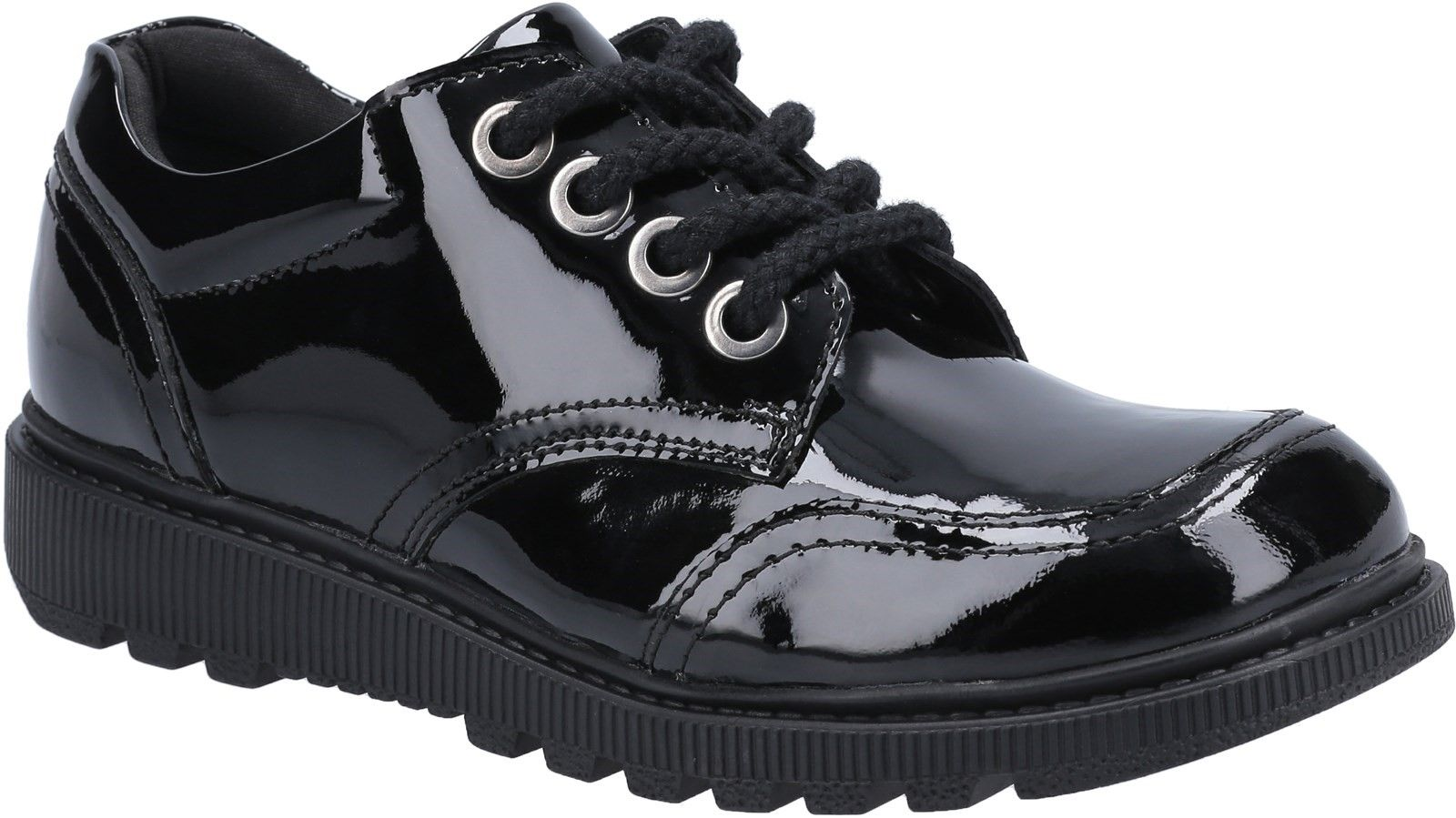Kiera Junior Patent School Shoe