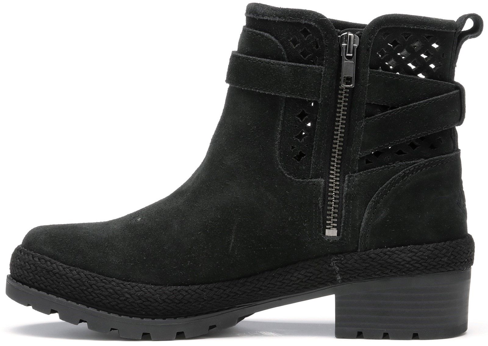 Liberty Perforated Leather Boots