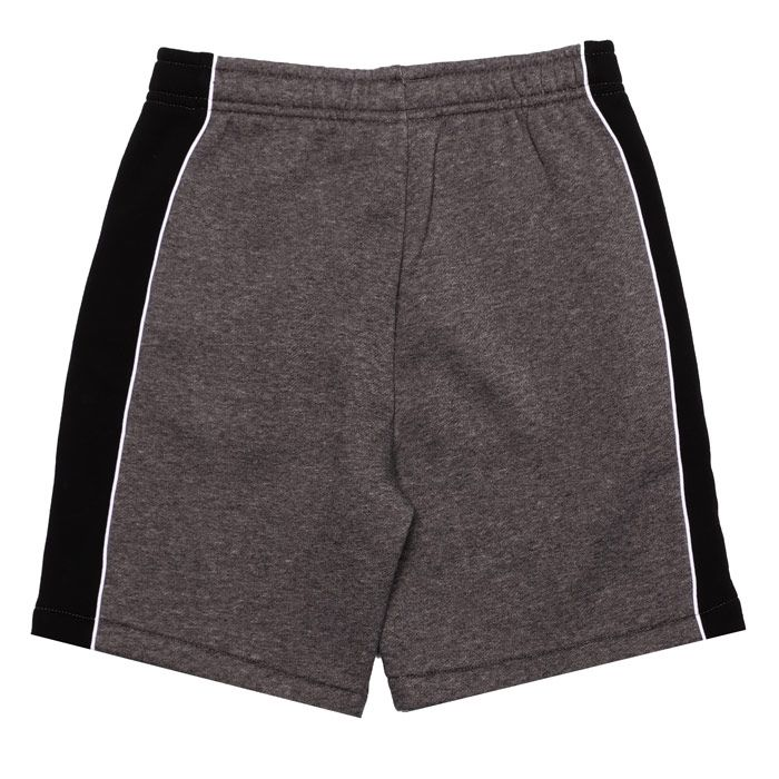 Boy's Lacoste Junior Sport Panel Shorts in Charcoal