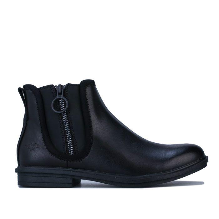 Women's Rocket Dog Greya Rancho Ankle Boots in Black