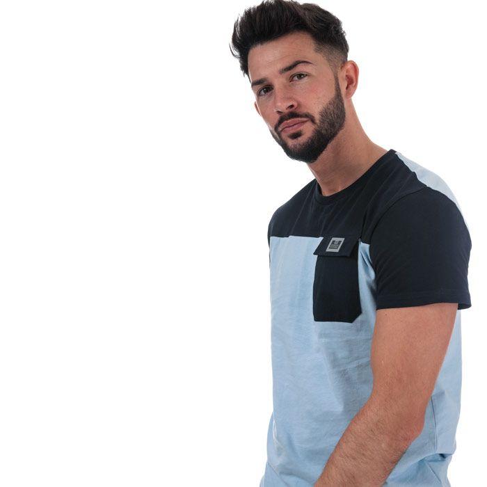 Men's Weekend Offender Gitarama Pocket T-Shirt in sky