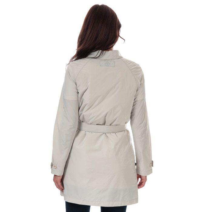 Women's Henri Lloyd Consort Long Memory Satin Jacket in Beige