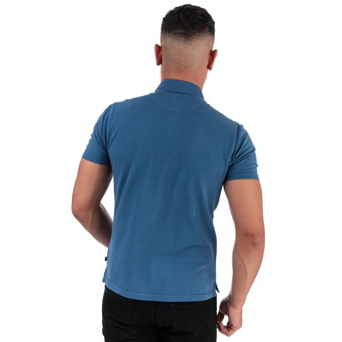 Men's Henri Lloyd Salted Piquet Polo Shirt in Blue