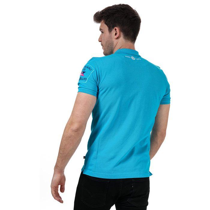 Men's Henri Lloyd Polo Shirt in Teal