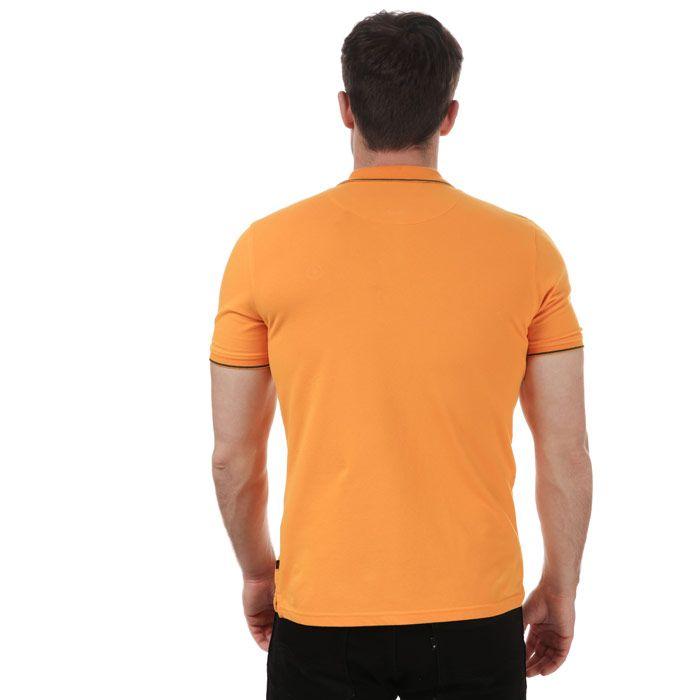 Men's Henri Lloyd Polo Shirt in Orange