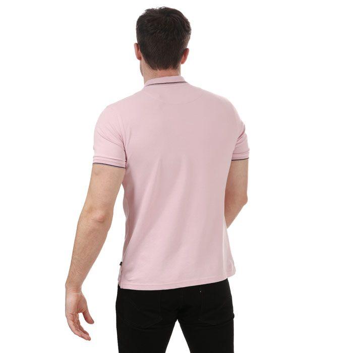Men's Henri Lloyd Polo Shirt in Pink