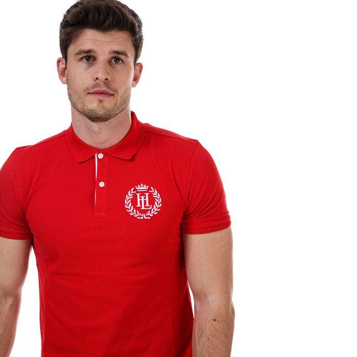Men's Henri Lloyd Polo Shirt in Red