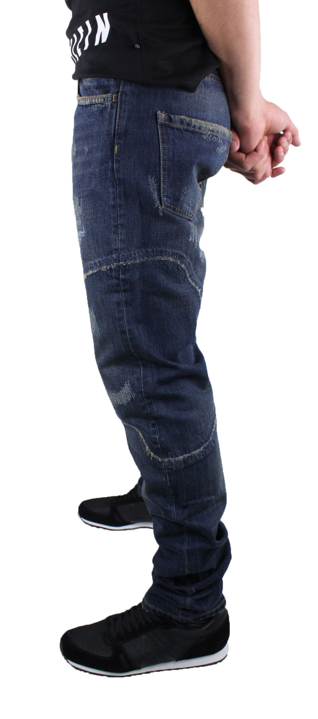 Philipp Plein Vulcano 8MY Military Blue Jeans