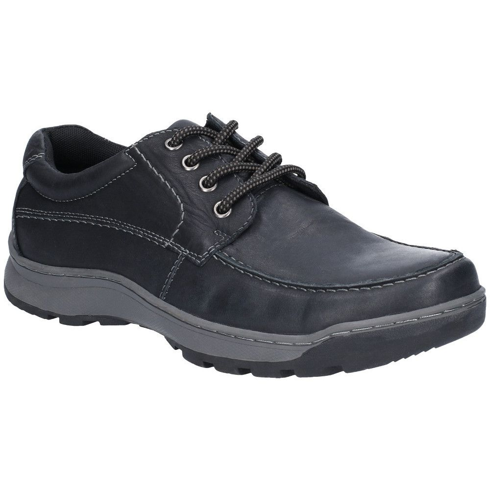 Hush Puppies Mens Tucker Lace Up Leather Oxford Shoes