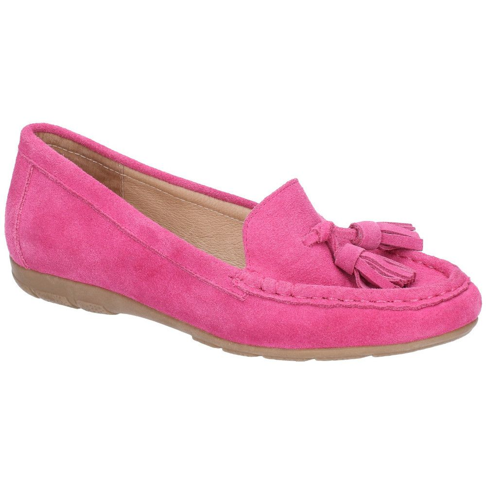 Hush Puppies Womens Daisy Slip On Moccasin Flat Casual Shoes