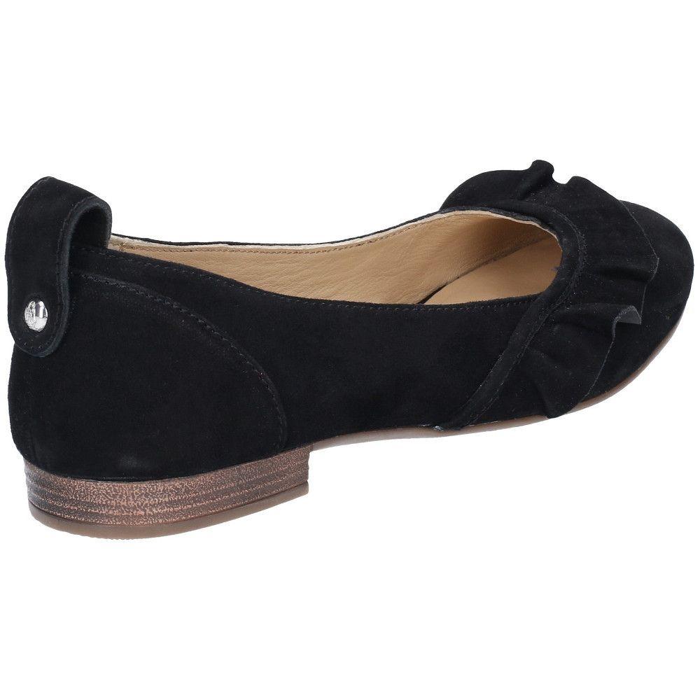 Hush Puppies Womens Willow Ballerina Slip On Smart Flat Shoe