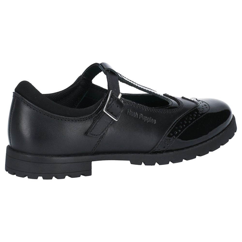 Hush Puppies Girls Maisie Leather Mary Jane School Shoes