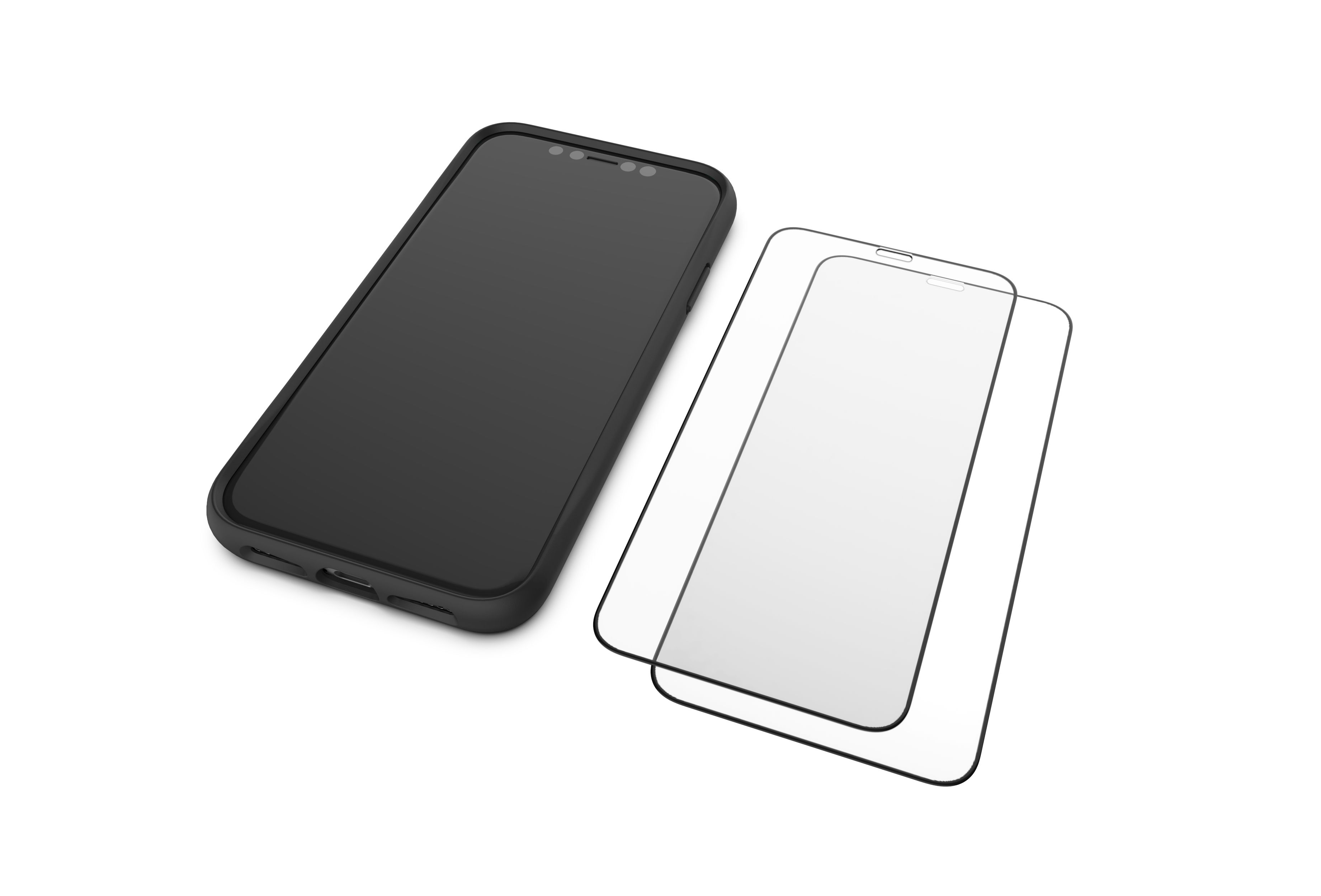 Mous - Resistant Tempered Glass Protector for iPhone 11 Pro - Pack of 2