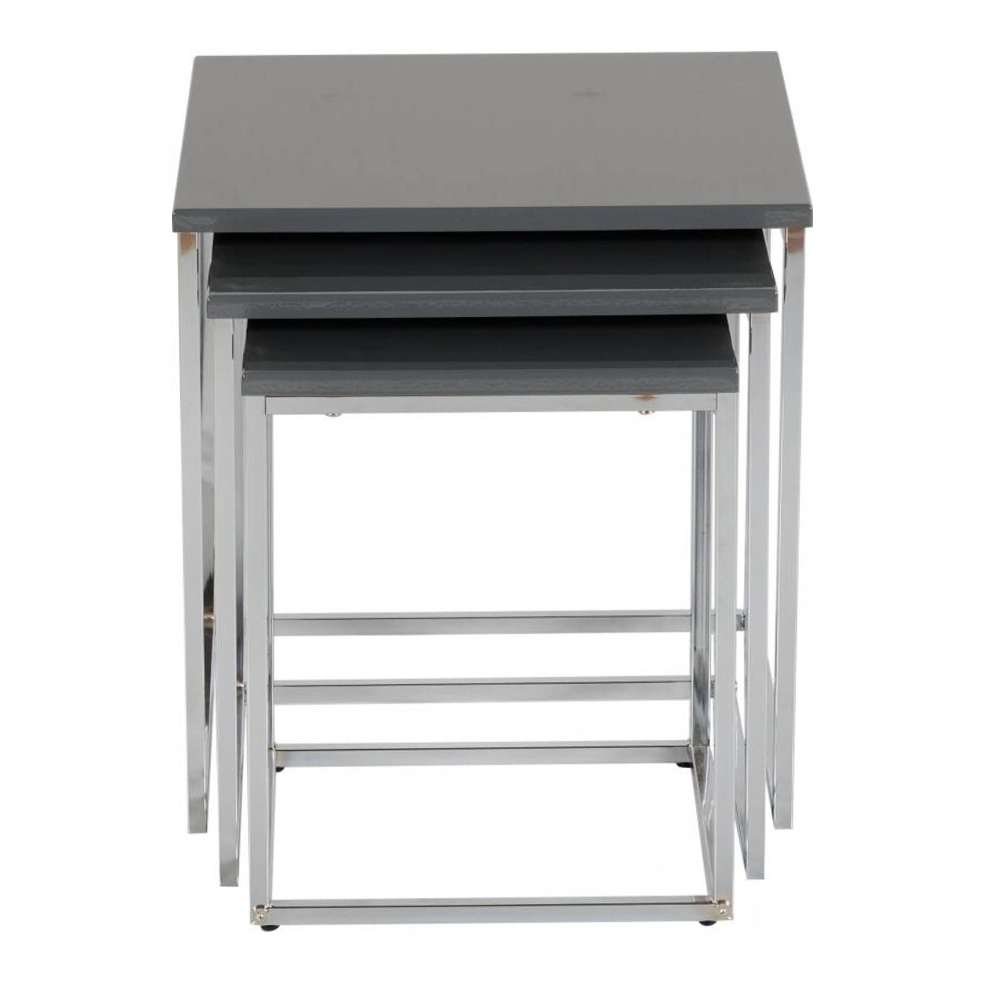 Maidens Nest of Tables Grey