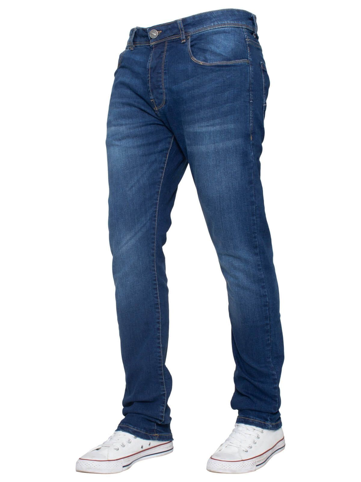 Mens Slim Stretch  Denim Jeans | Enzo Designer Menswear