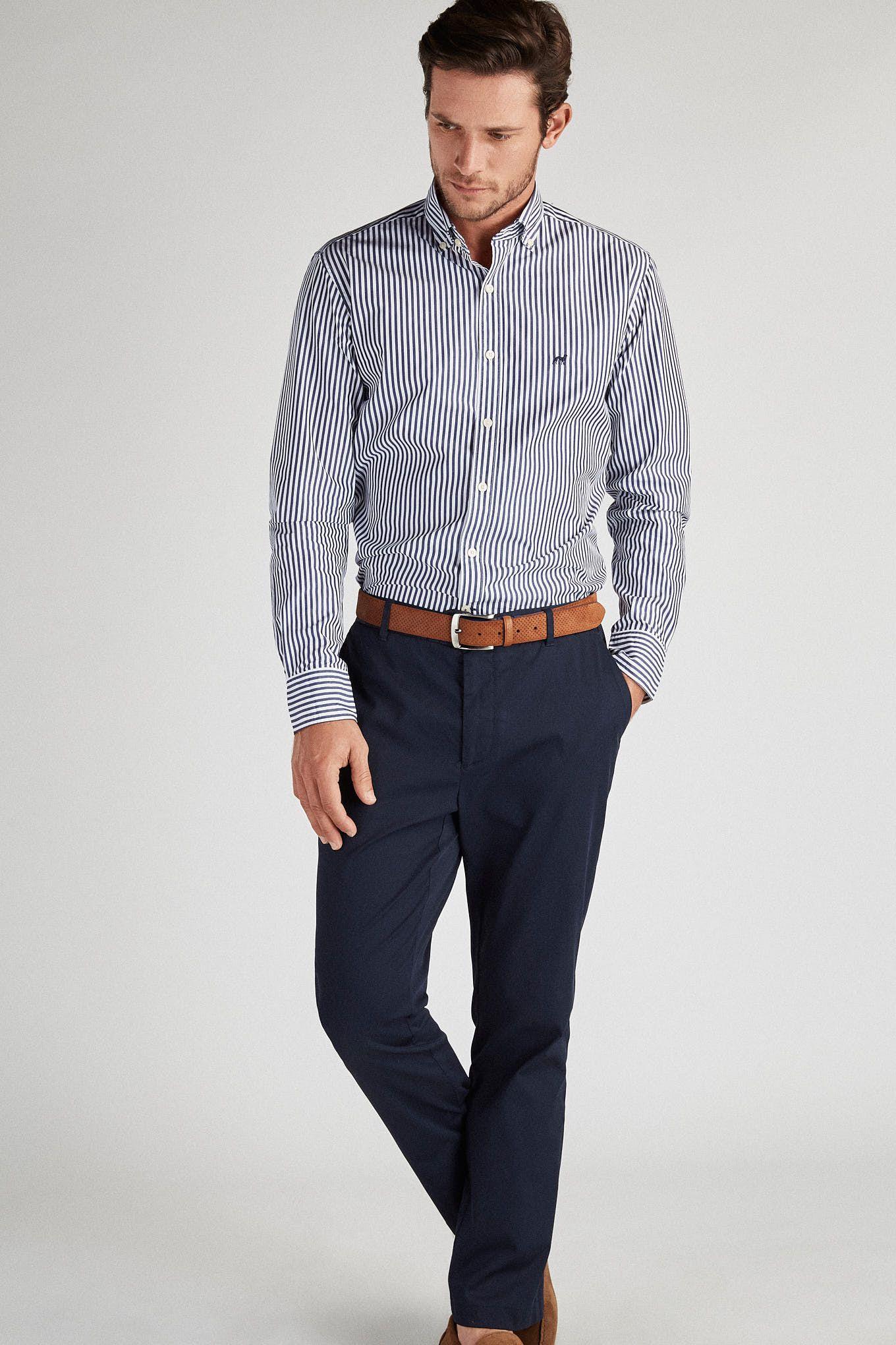 Men s Slim Fit Sport Shirt