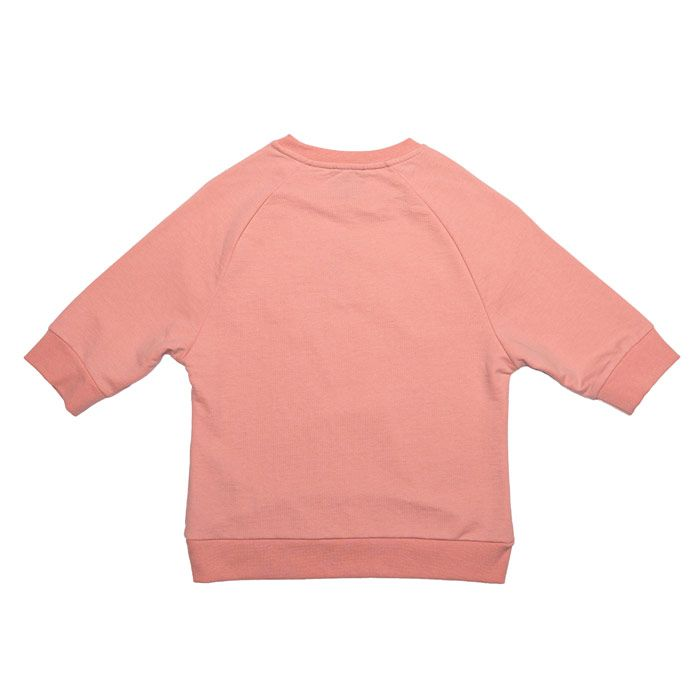 Girl's Juicy Couture Infant Gothic Script Sweat in Peach