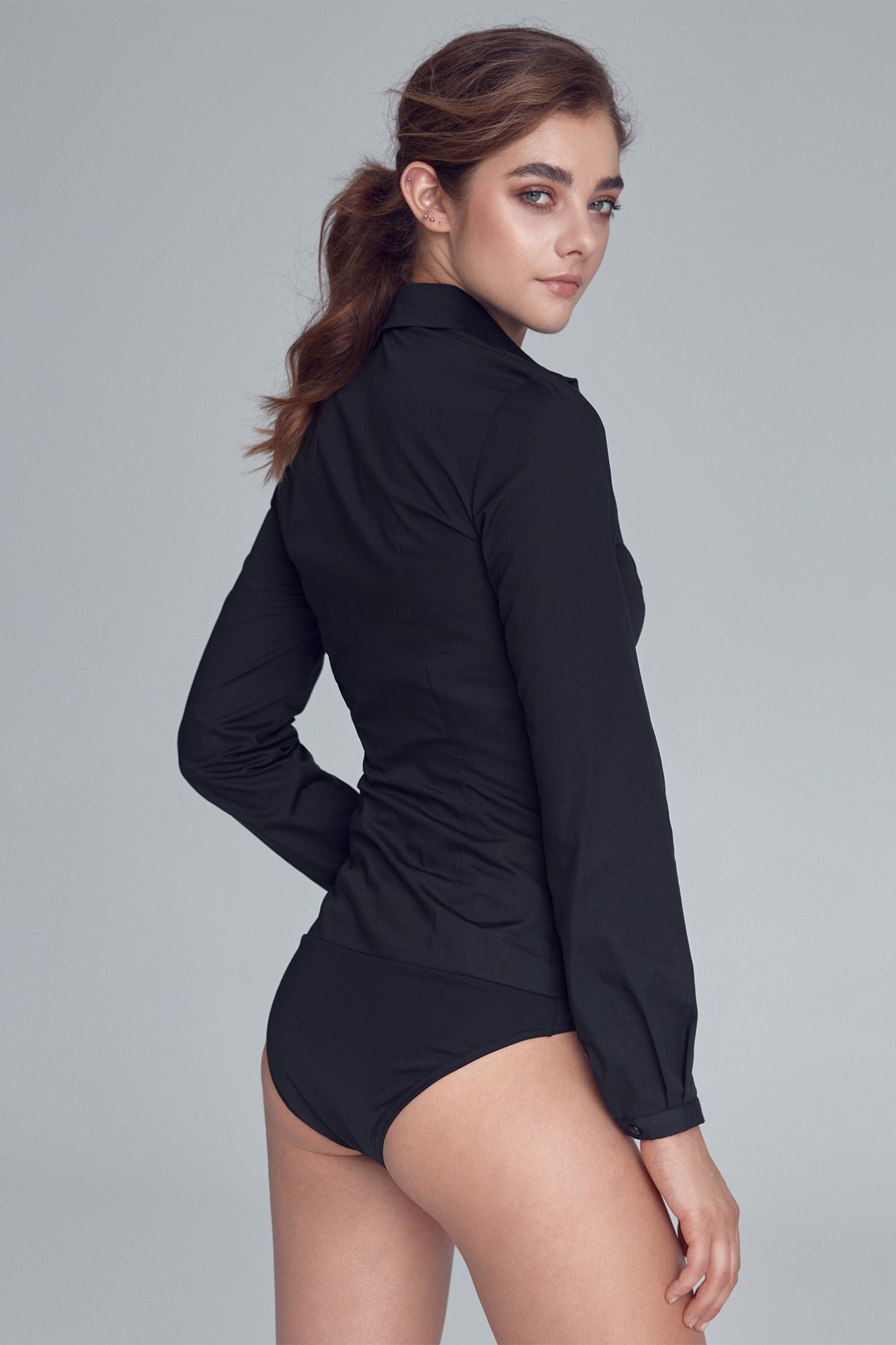Classic Body Shirt in Black