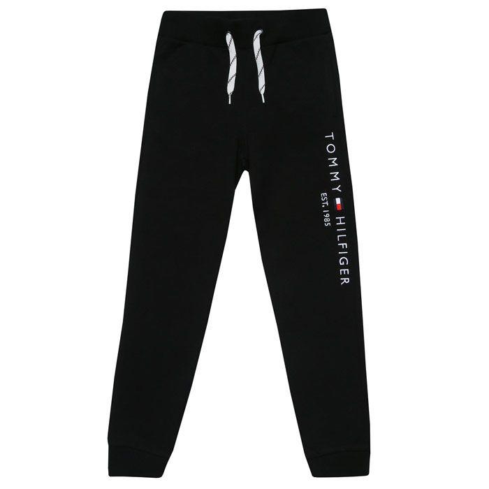 Boys' Tommy Hilfiger Infant Essential Jog Pant in Black