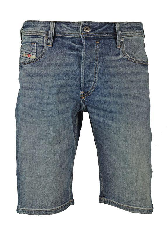 Diesel Keeshort Light Blue Denim Shorts