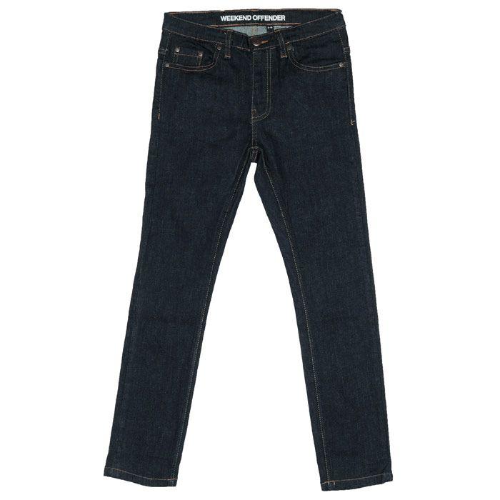 Boy's Weekend Offender Junior 394 Dark Rinse Jeans in Denim