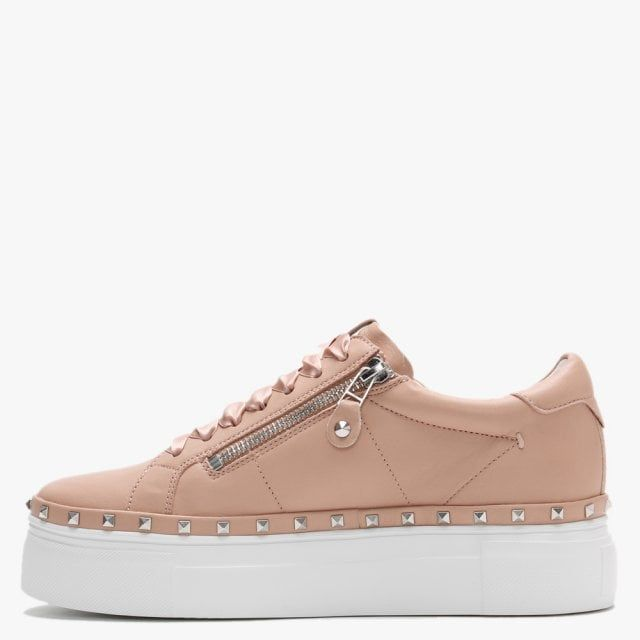 Kennel & Schmenger Nano Leather Studded Chunky Trainers