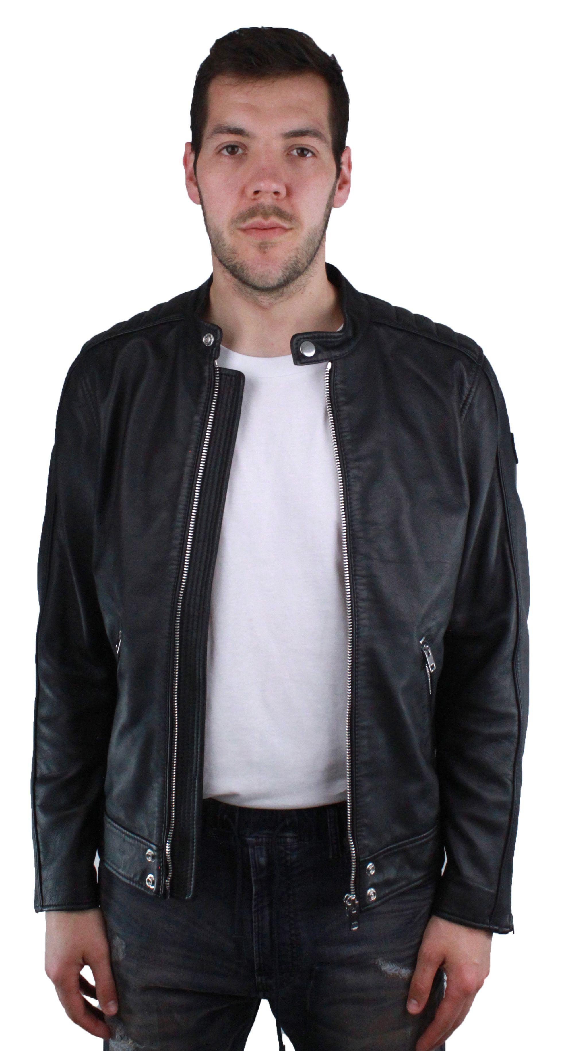 Diesel L-Quad 900 Leather Jacket