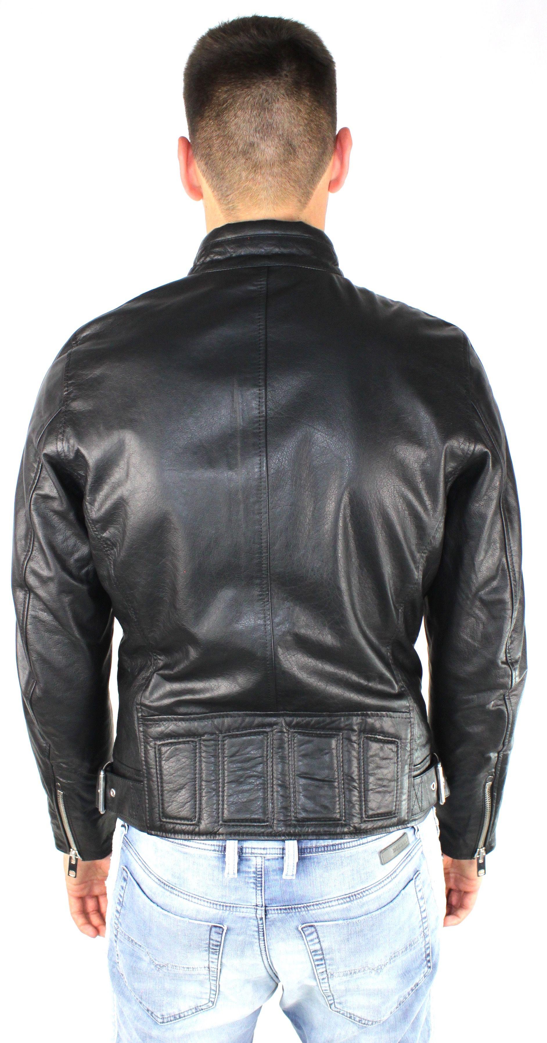 Diesel L-Reed 900 Leather Jacket