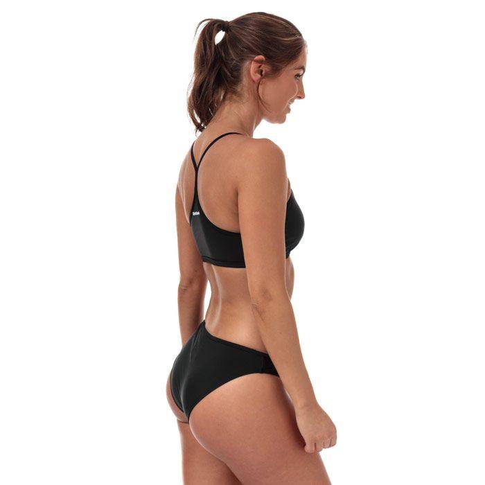 Women's Reebok Alanna Bikini in Black-White