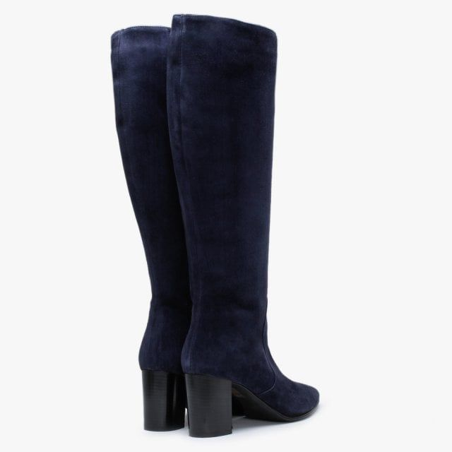 Lamica Suede Pointed Toe Knee Boots