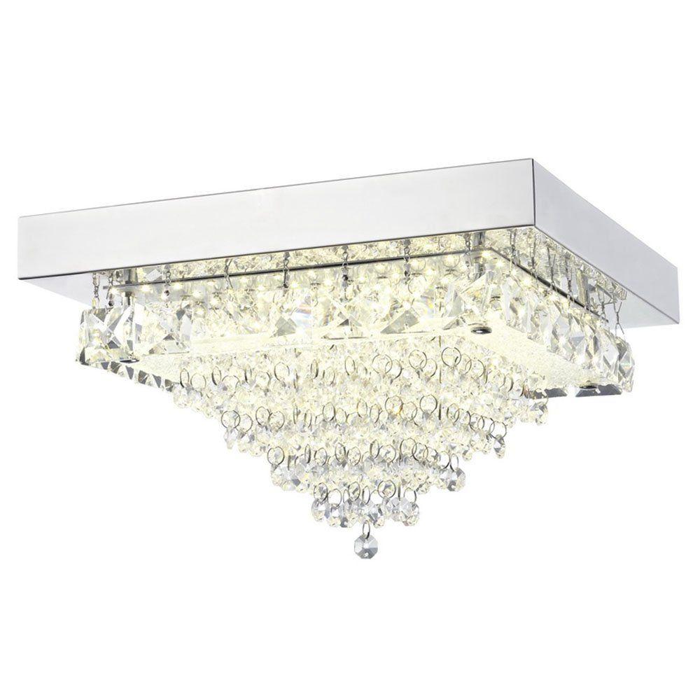 Auden LED Small Square Semi-Flush Ceiling Light