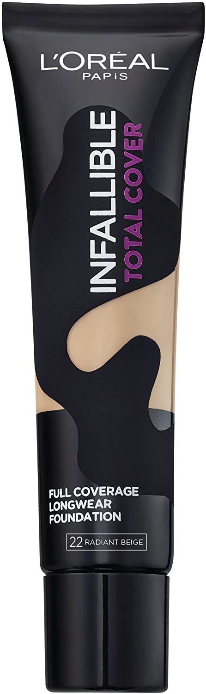 L'Oréal Paris Infallible Total Cover Foundation 35g - 22 Radiant Beige