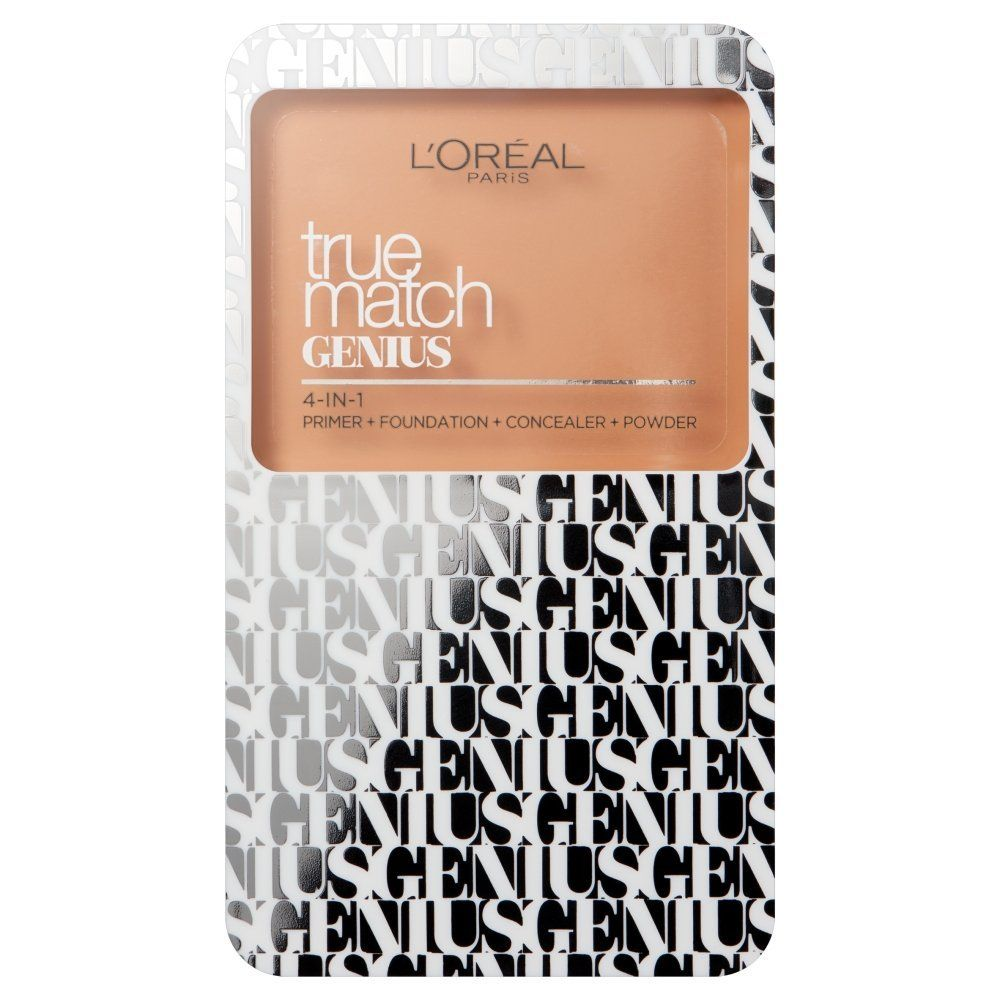 L'Oreal True Match Genius 4 in 1 Compact Foundation 7g Sealed 2C Rose Vanilla