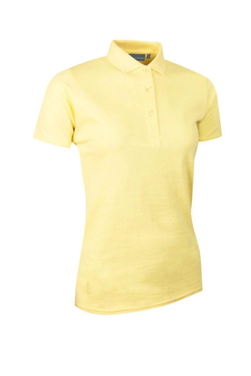 Light Yellow Polo Shirt