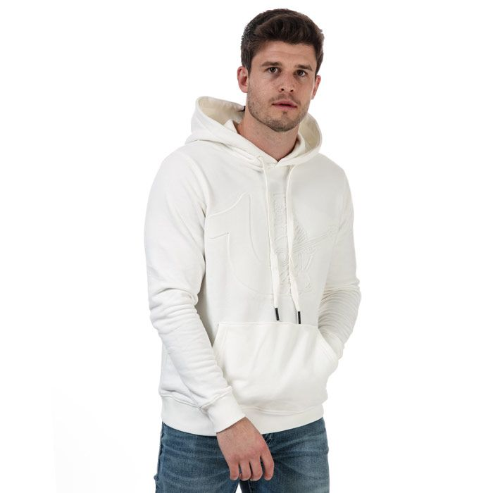 True Religion Men's Hoodie in White
