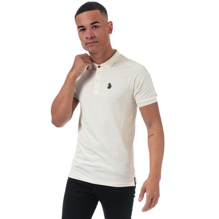 Men's Luke 1977 Willtape Polo Shirt in Off White