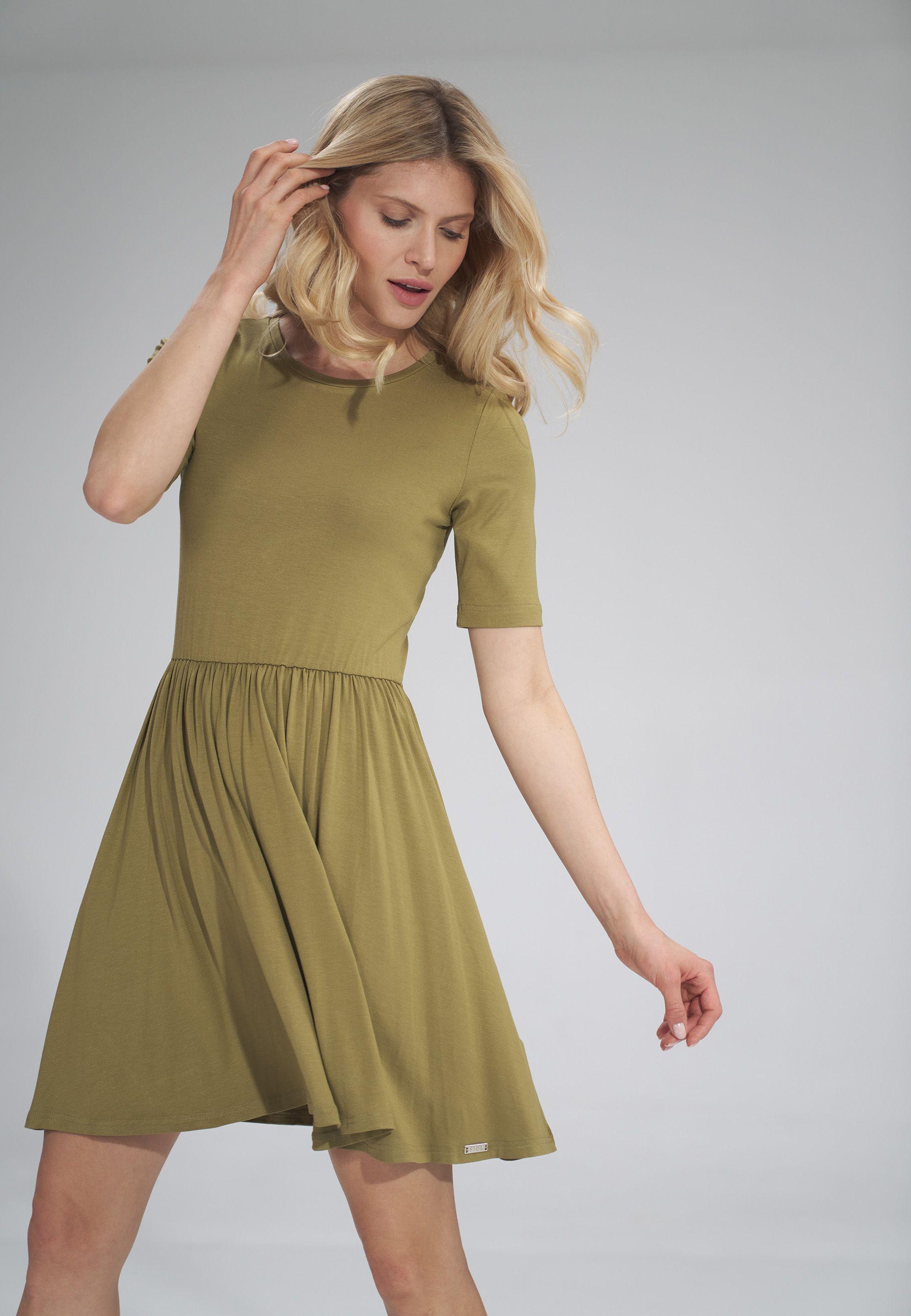 Short Sleeve Summer Dress