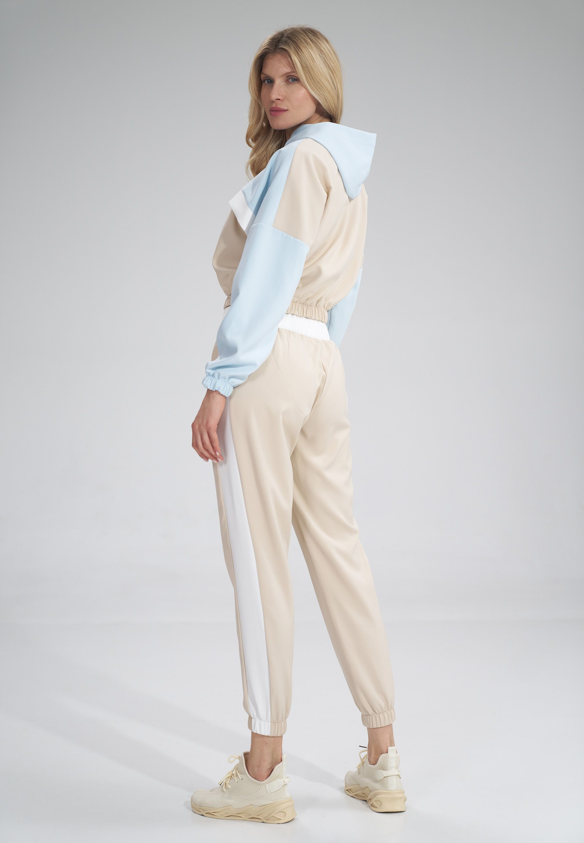Sports Pants with Stripe