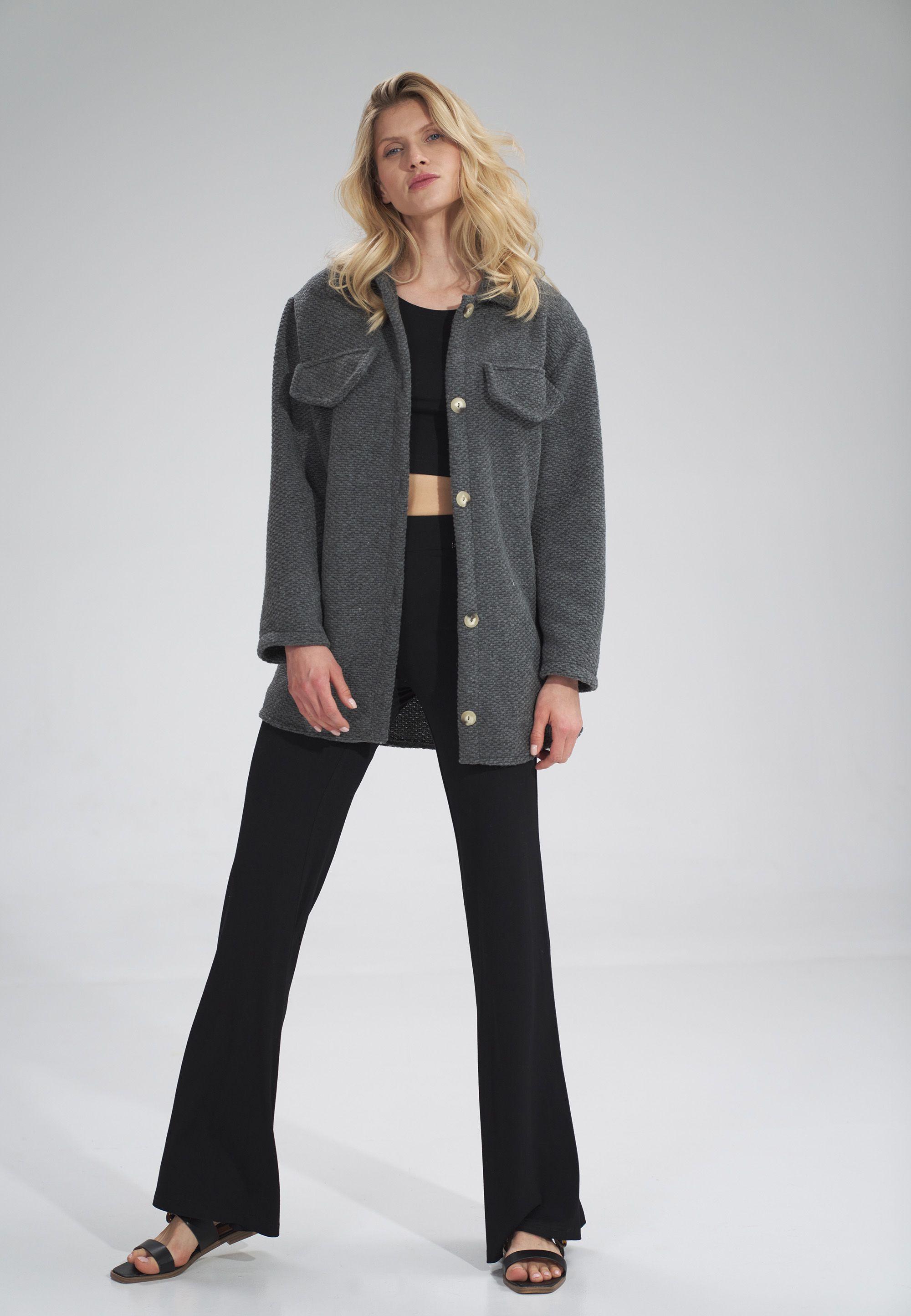 Shirt-Cut Jacket