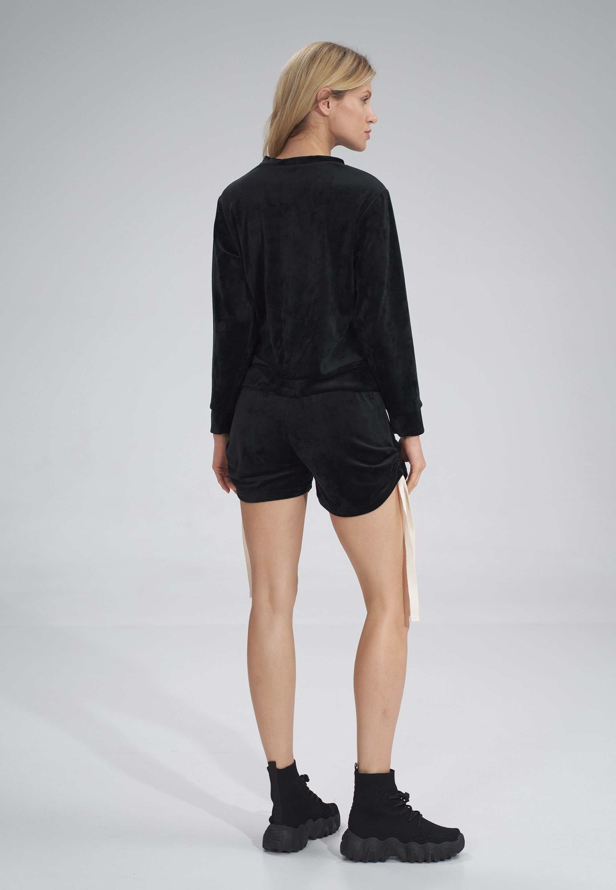 Short Velour Shorts