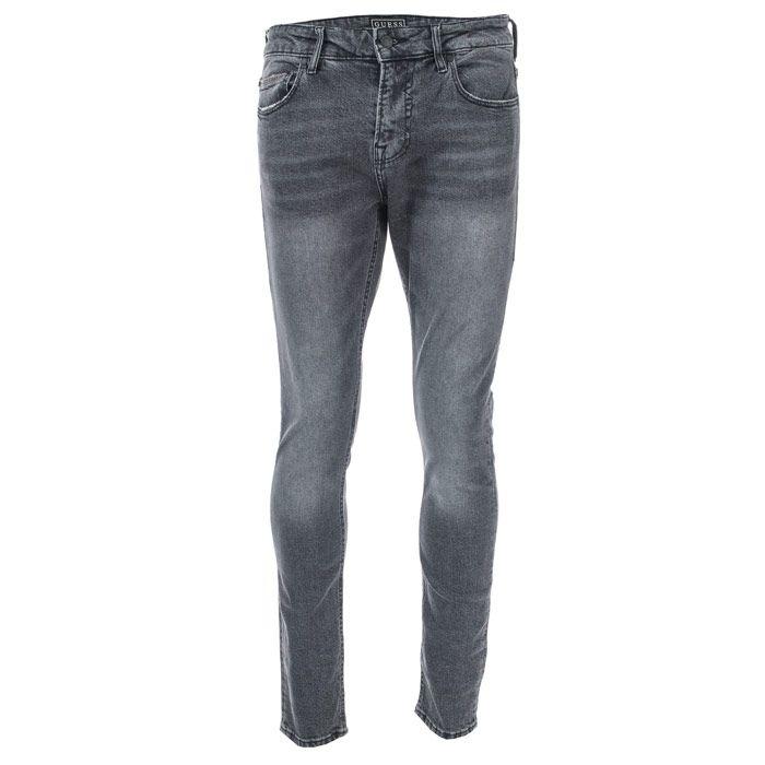 Men's Guess Chris Pano Jeans in Black