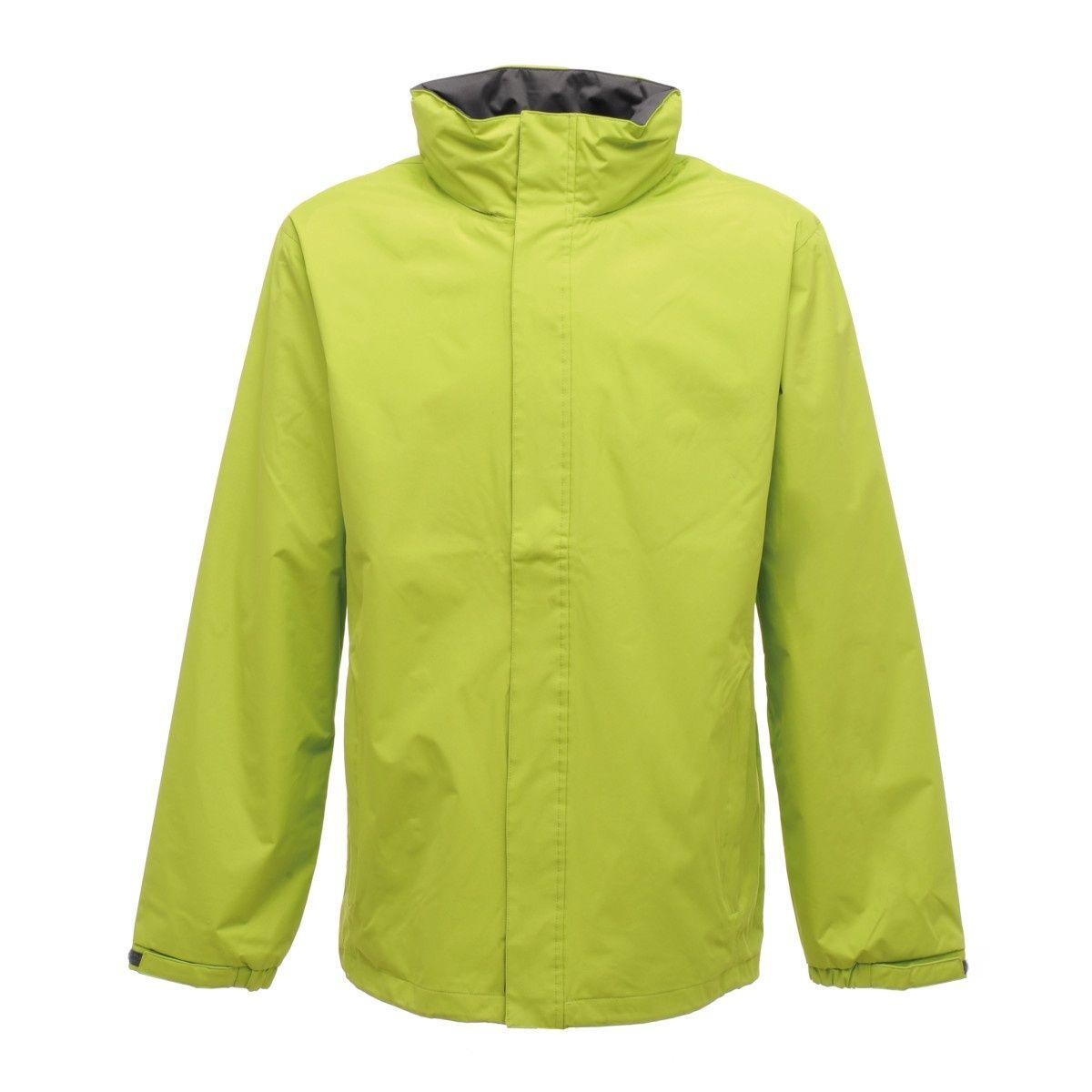 Regatta Mens Standout Ardmore Jacket (Waterproof & Windproof) (Key Lime/Seal Grey)