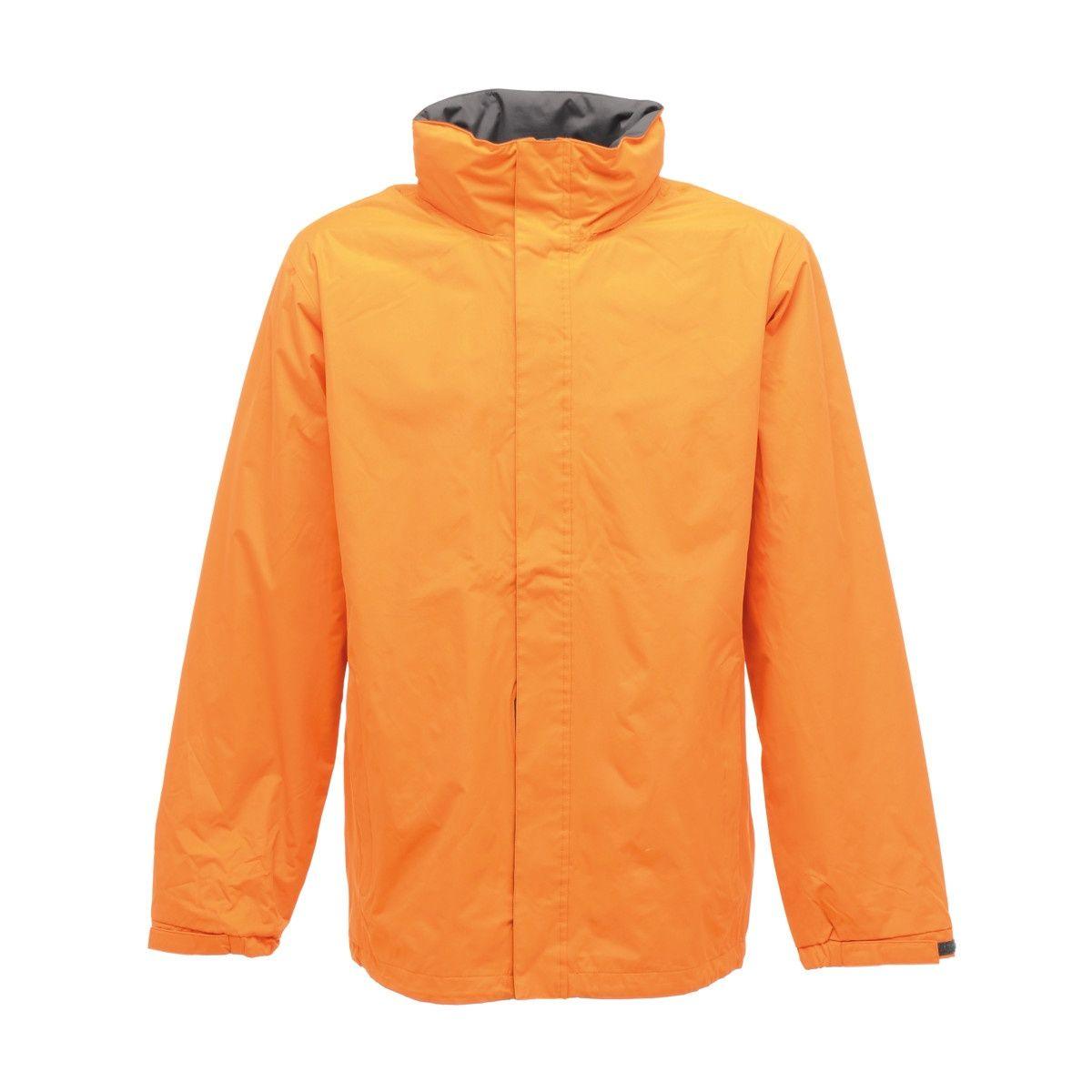 Regatta Mens Standout Ardmore Jacket (Waterproof & Windproof) (Sun Orange/Seal Grey)