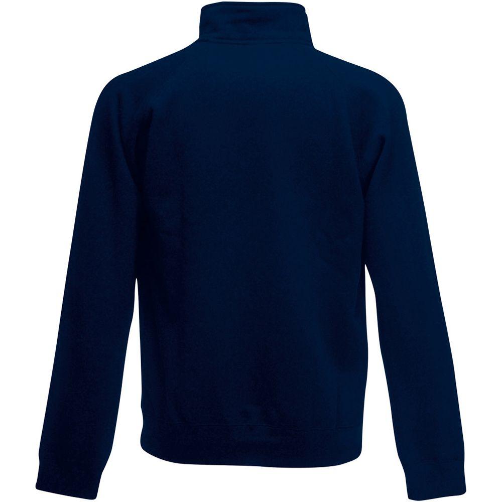 Fruit Of The Loom Mens Zip Neck Sweatshirt