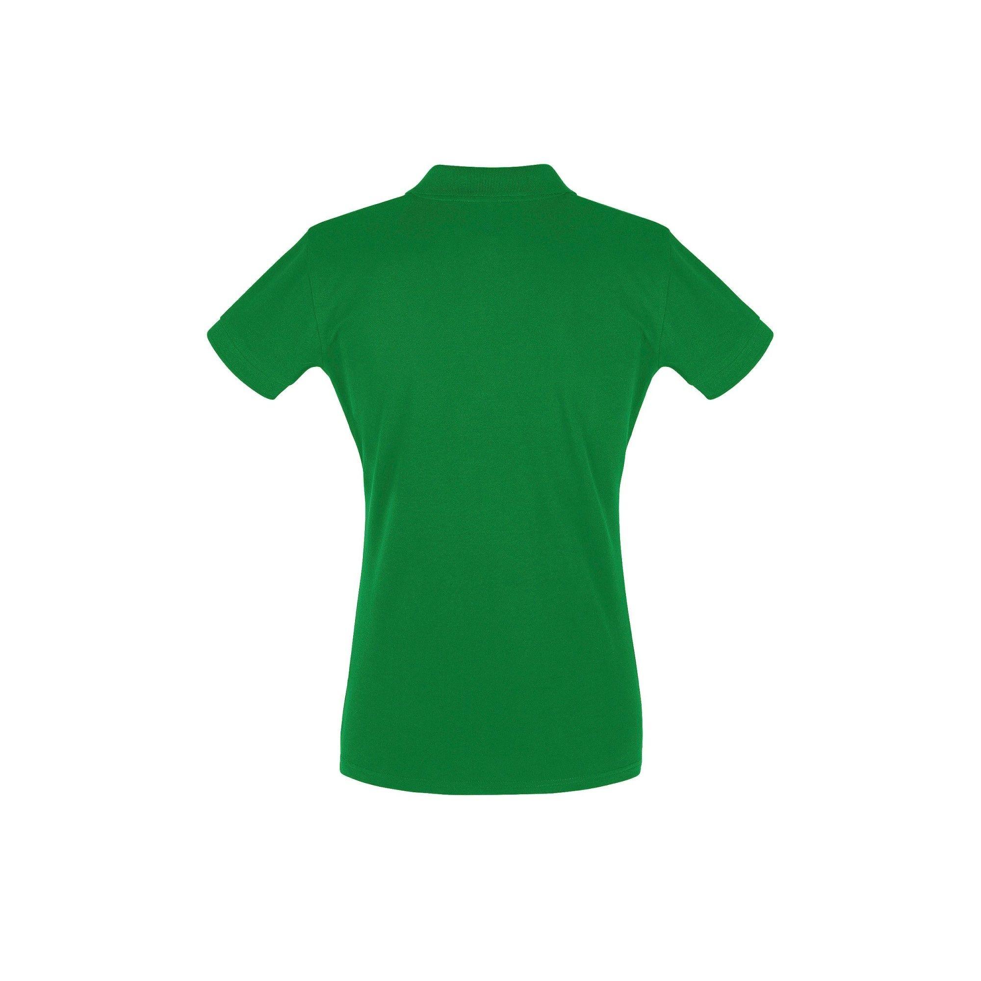 SOLS Womens/Ladies Perfect Pique Short Sleeve Polo Shirt (Kelly Green)